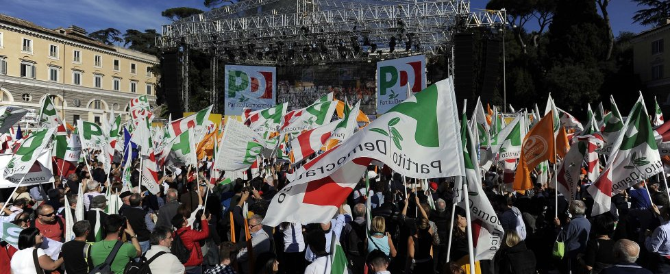 pd trasimeno piazza del popolo Roma
