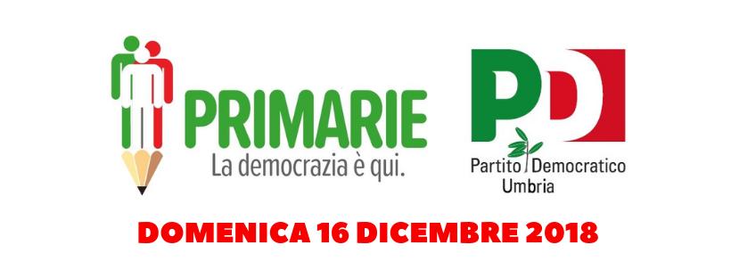 Primarie PD Umbria - Pd Trasimeno risultati