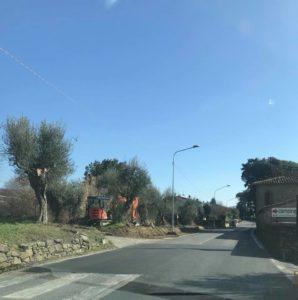 """Passignano – Strade, scatta l'operazione """"viabilità sicura"""" - marciapiede sr 75"""