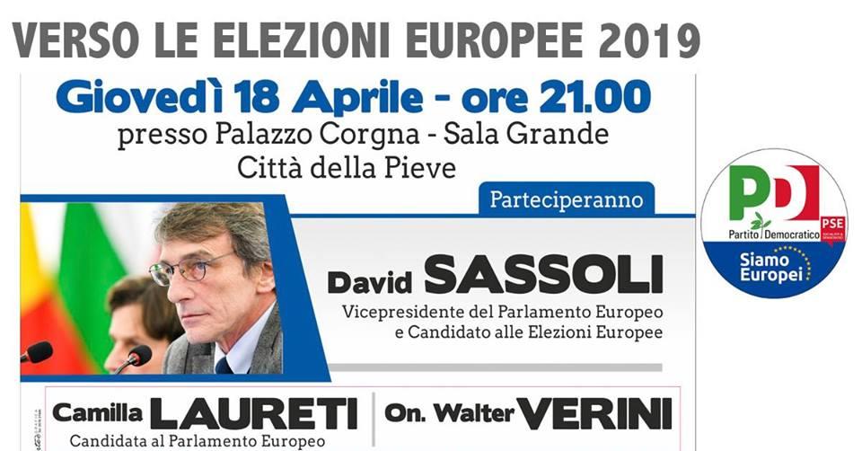 Elezioni europee pd città della pieve